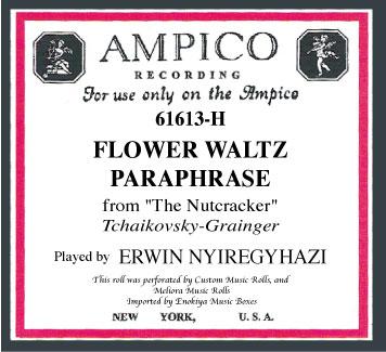 花のワルツ パラフレーズ   「アンピコ」