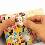 画像5: 【DIY木製パズルキット オルゴール】メリーゴーランド(カラー) (5)