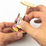 画像6: 【DIY木製パズルキット オルゴール】メリーゴーランド(カラー) (6)