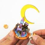 画像5: 【DIY木製パズルキットオルゴール】  ムーンドリーム (5)