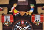 画像5: カッコー時計 牛とアイベックス (5)
