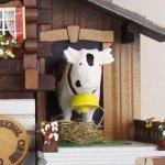 画像6: カッコー時計  農夫の山小屋 (6)