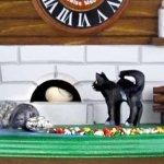 画像5: カッコー時計 ネコとネズミ (5)