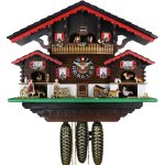 画像1: カッコー時計 ハイジの山小屋 (1)