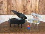 画像15: 18弁オルゴール 木製グランドピアノ 黒M (15)