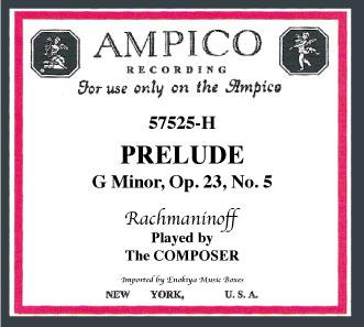 画像1: 前奏曲ト短調 作品23の5 「アンピコ」 (1)