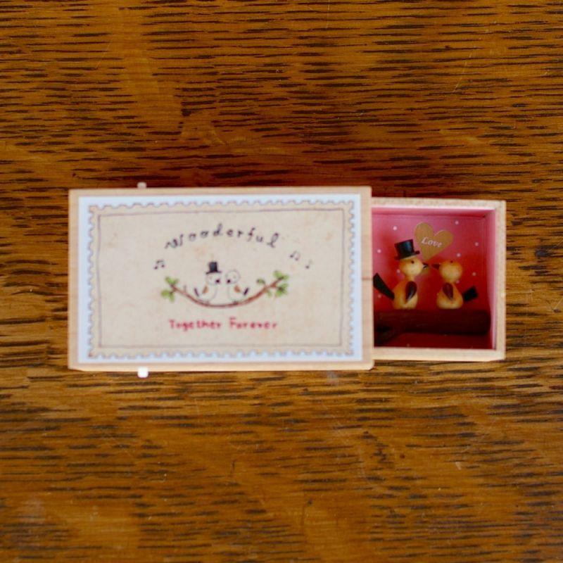 画像1: ワンダーボックス *小鳥 ♪オルゴール (1)