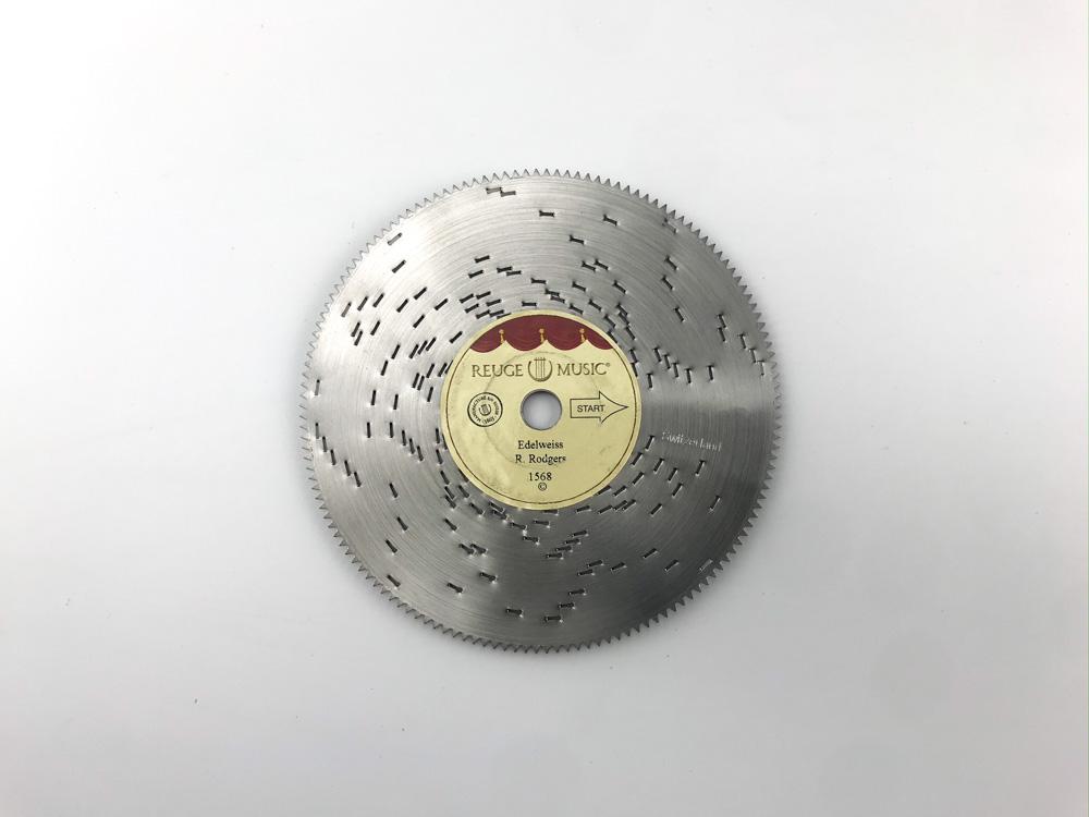 画像1: 「エーデルワイス」 リュージュ11.4cmディスク  (1)