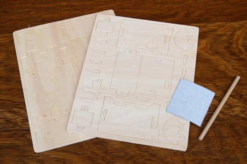 木製オルゴール作成キット
