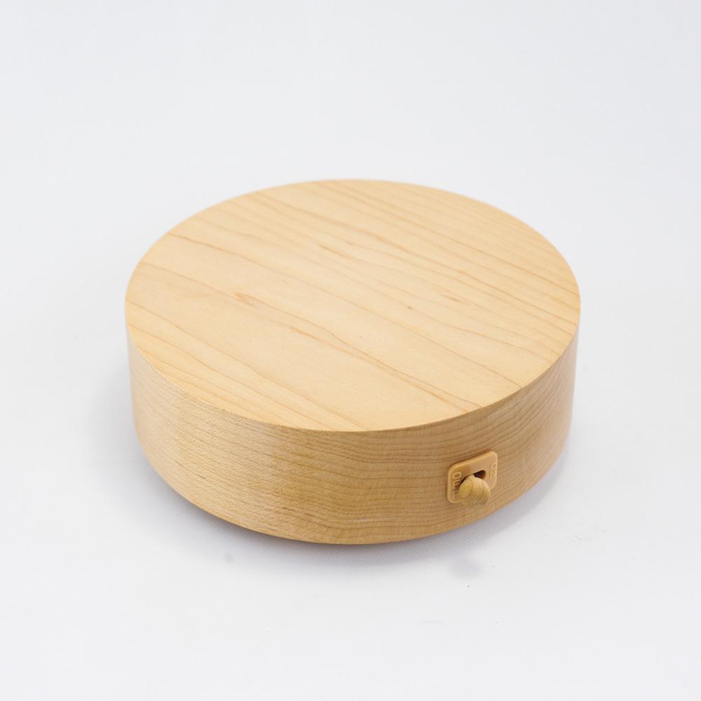 画像1: 回転ベース*105フラット 【 wooderful life DIYオルゴール 】 (1)
