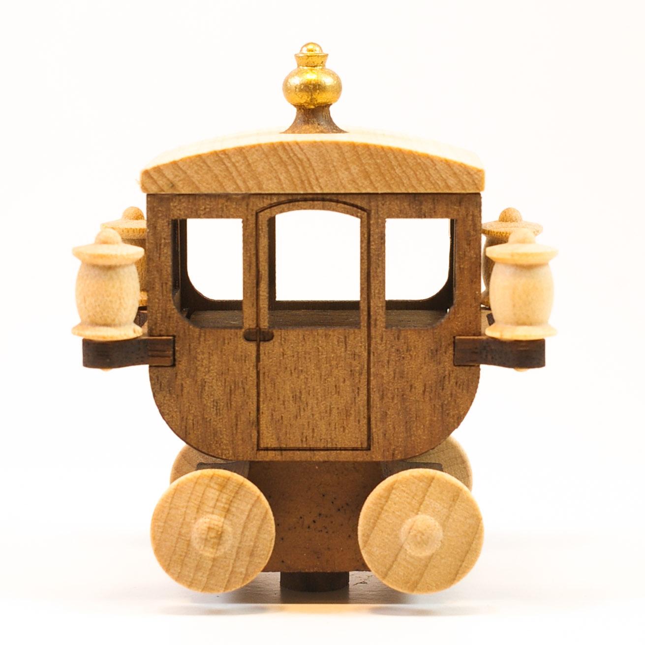 画像1: Lサイズ*馬車コーチ 【 wooderful life DIYオルゴールオブジェ 】 (1)