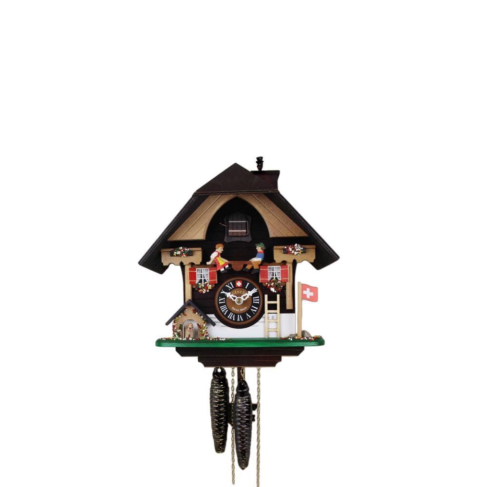 画像1: カッコー時計 ハイジとペーター (1)