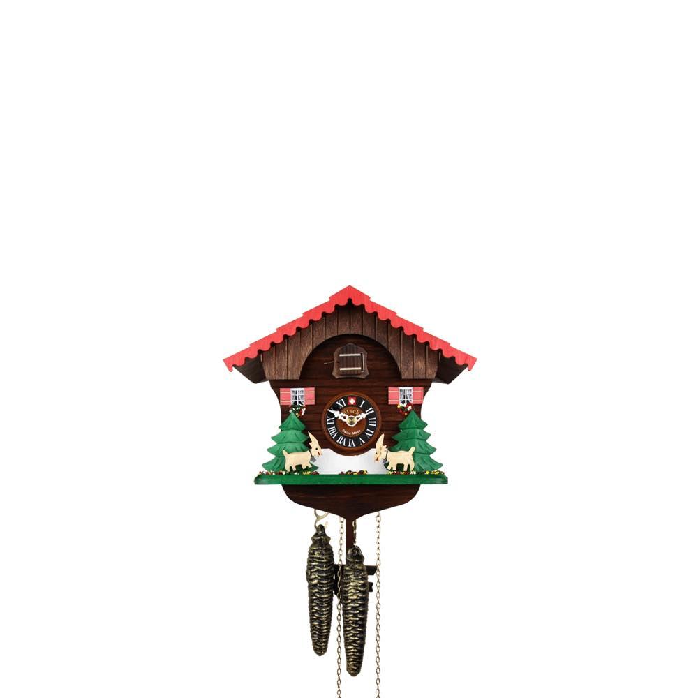 画像1: カッコー時計 ヤギの山小屋 (1)