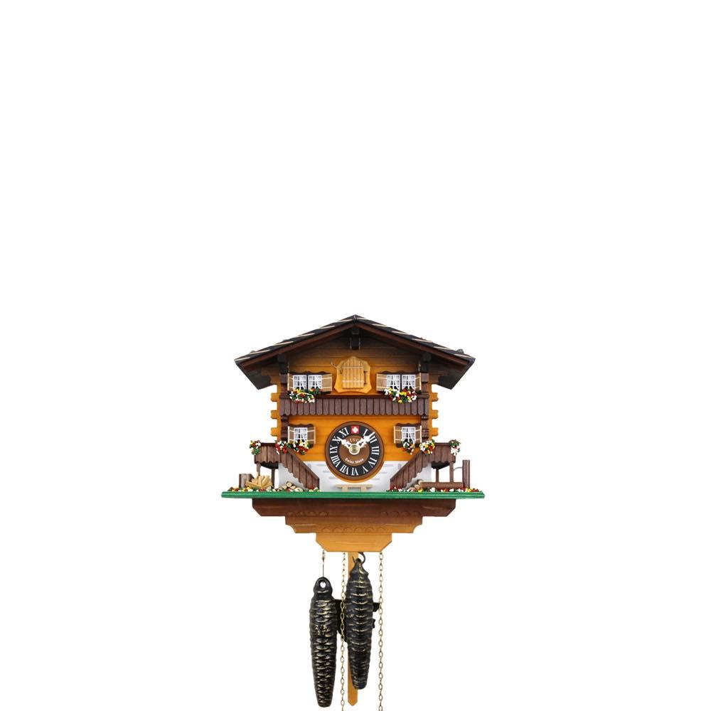 画像1: カッコー時計 ブリエンツの山小屋 -アンバー- (1)