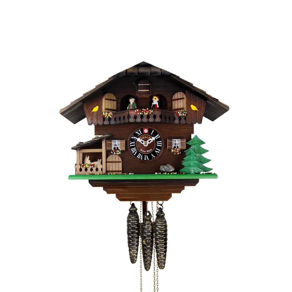 画像1: カッコー時計 山羊小屋 (1)