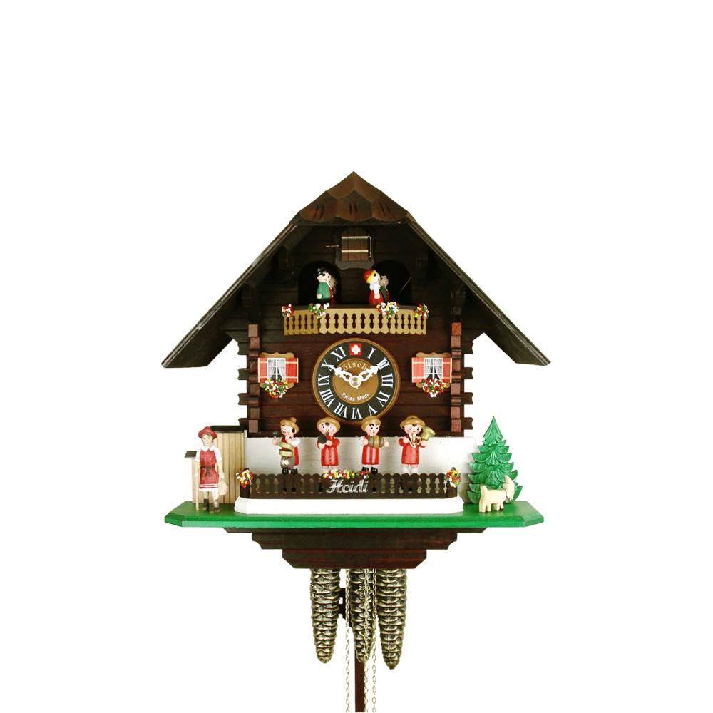 画像1: カッコー時計 ハイジ (1)