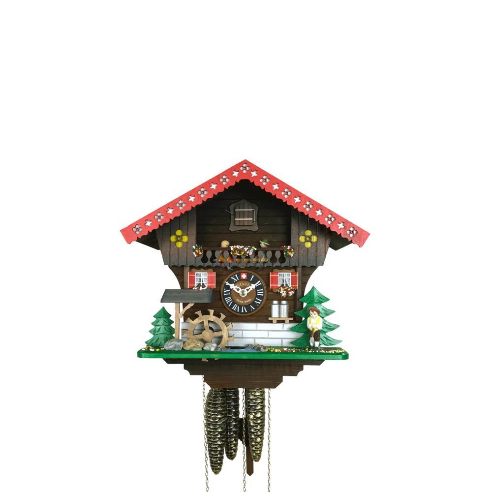 画像1: カッコー時計  きこりの山小屋 (1)