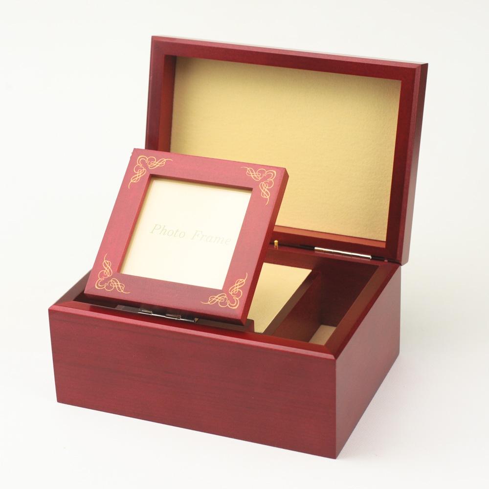 画像1: 18弁オルゴール用 ポップアップフォト宝石箱 (1)