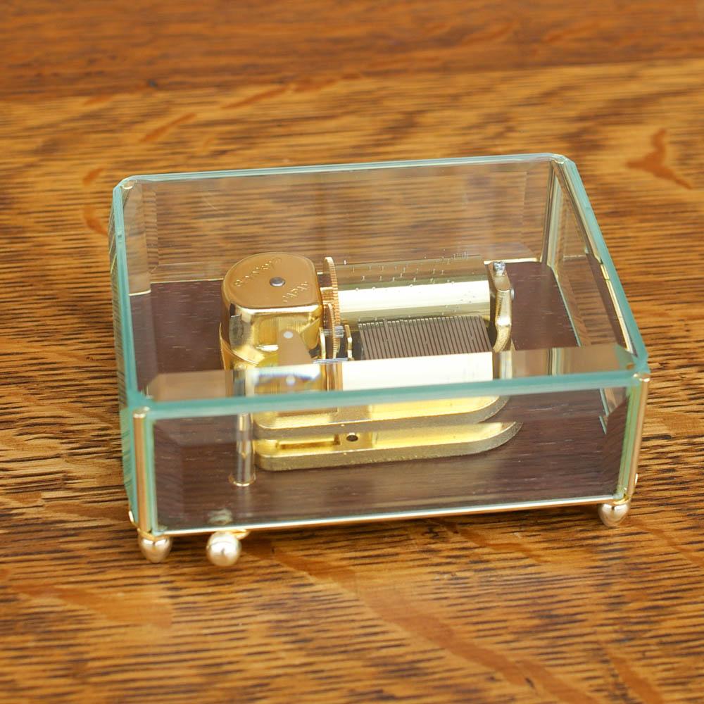 画像1: 30弁オーダーメイドオルゴール「Master Made」ガラスケース (1)