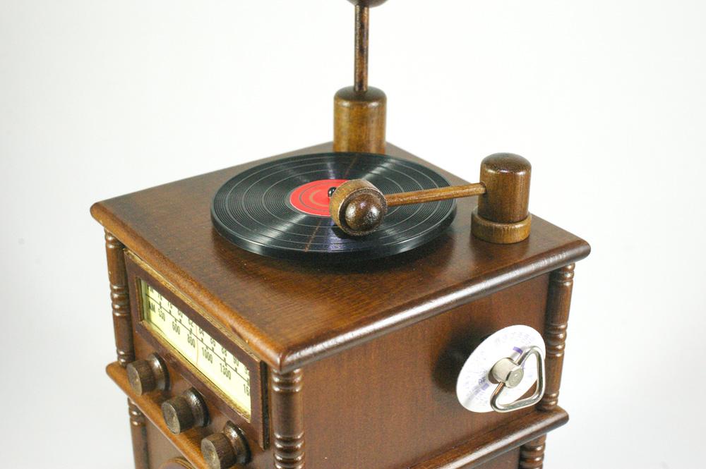 画像1: ミニチュア蓄音機 * オルゴール (1)